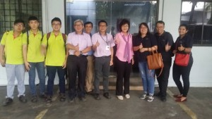 Factory visit LY Furniture Sdn Bhd