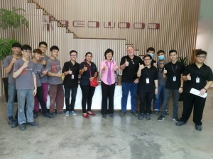 Factory visit Redwood Furniture Sdn Bhd