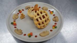 mini sausage pie