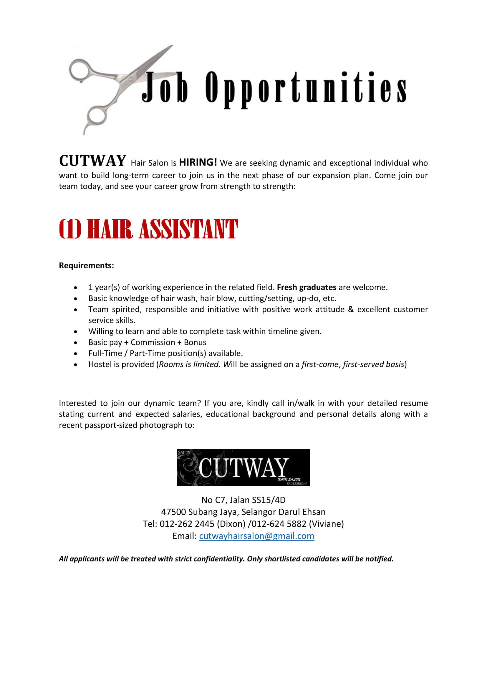 AssistantJobVacancy – Cutway-1