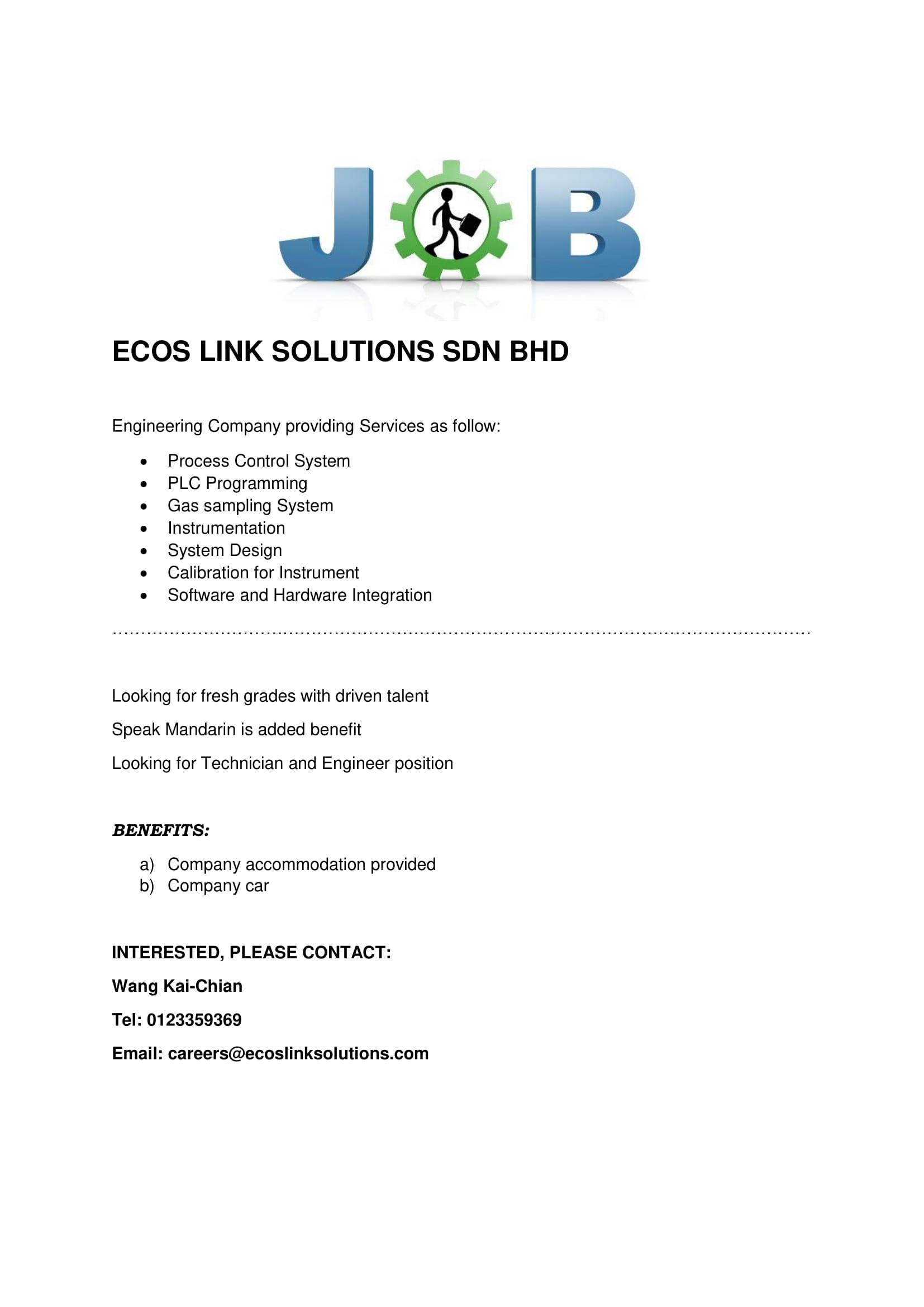 ECOS LINK SOLUTIONS SDN BHD- Vtar-1